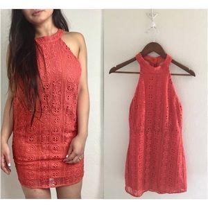Line + Dot Revolve | Lace Halter Dress NEW! ✨🌅✨